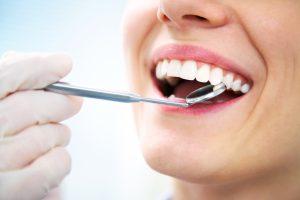 dentist visit checkup happy patient
